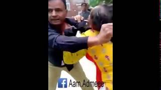 Girls Fights in Pakistan. Girl Fight with Police Officer. (Gone Wrong). Outside Law Court