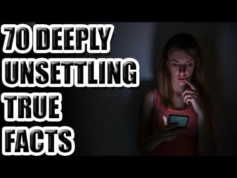 70 Deeply UNSETTLING True Facts  [ASKREDDIT]