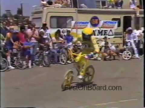 Eddie Fiola 1984 Old School BMX, Huntington Beach California