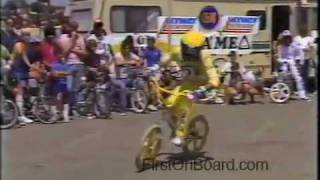Eddie Fiola 1984 Old School BMX, Huntington Beach California