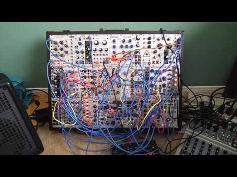 Mutable Instruments Rings and Makenoise Telharmonic