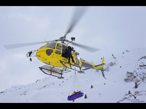 Alpine skiing World cup finals at Méribel, Training rescue MBH Helicopters / Airbus helicopters H125