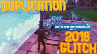 NEW DUPLICATION GLITCH 2018! Unlimited Materials *MUST SEE* - Fortnite Save The World