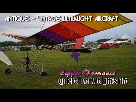 Eipper Formance Quicksilver Weight Shift antique ultralight vintage ultralight aircraft.