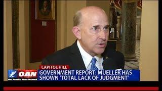 """Gohmert Talks to OAN on """"Mueller Unmasked"""""""