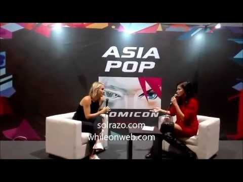 Claire Holt Media Q & A Session at Asia POP Comicon Manila