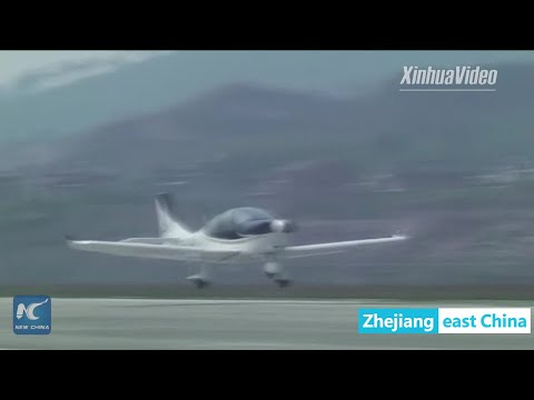 China's airplane developed by private firm completes test flight