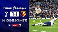 Dele scores controversial late equaliser | Tottenham 1-1 Watford | Premier League Highlights