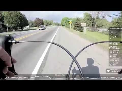 CYCLING POV | KINGSTON | 30km E via 2/Abbey Dawn/Kingston Mills