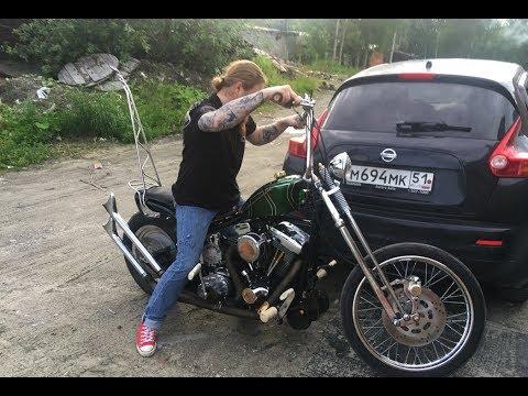Мотоцикл Ильи Мизантропа (город Апатиты)