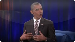 Jimmy Fallon - President Barack Obama, Part 1:  Late Night with Jimmy Fallon