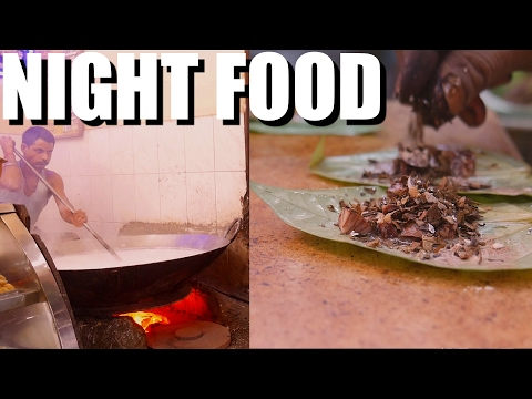 INDIAN STREET FOOD at Night in Kolkata. (NIGHT MARKET) WHAT DID I EAT? Epi 2