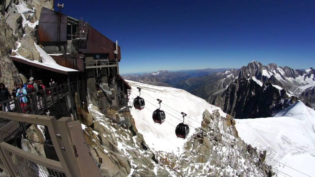 Video traversata del Monte Bianco in Funivia