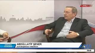 """Abdüllatif Şener   """"AKP için yolun sonu görünüyor"""""""