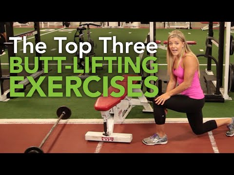 Top Three Butt-Lifting Exercises with Dr.  Chelsea