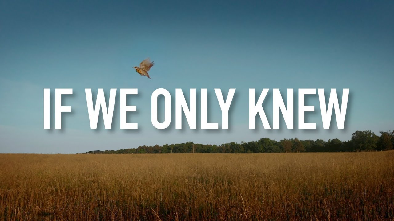 If We Only Knew - [Lyric Video] Unspoken - YouTube