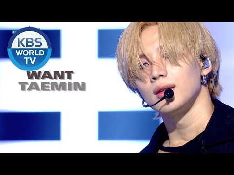 TAEMIN(태민) - Artistic Goove & WANT [Music Bank COMEBACK/2019.02.15]