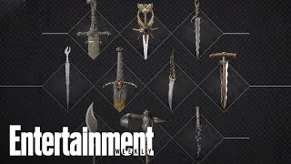 'Game Of Thrones': A Closer Look At Key Weapons Used In 'Game Of Thrones' | Entertainment Weekly