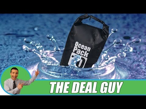 🌊 WATERPROOF DRY BAG ◄ Keep your gear SAFE!