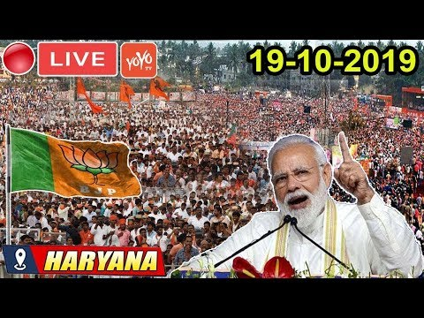 BJP LIVE | PM Modi Addresses Public Meeting at Ellenabad,, Haryana | Election Campaign 2019