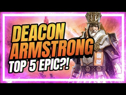 NEW Deacon Armstrong | TOP 5 EPIC?! | RAID Shadow Legends
