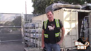 See Why Distribution Centers Use Rhino Dirt To Clean up Paint