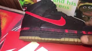 Nike Sb Dunk Hi Premium N7 Shoe(Review