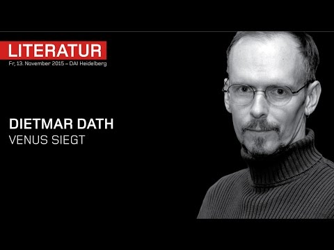 Dietmar Dath – Venus siegt – Interview – DAI Heidelberg