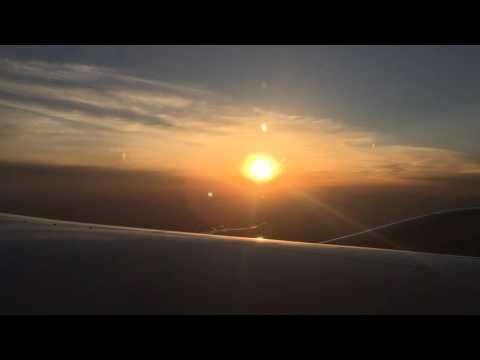 UA 88 Take off from Beijing for Newark