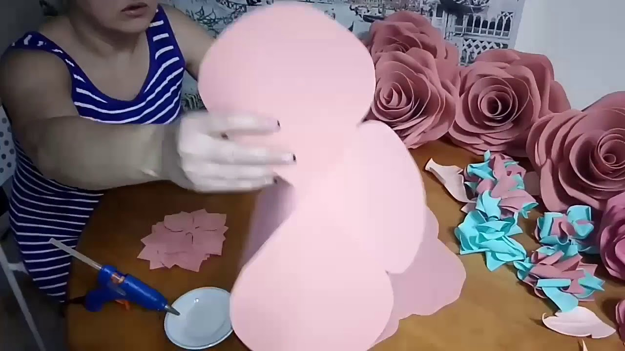Мастер-класс Роза из фоамирана
