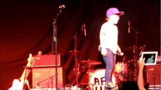 Baylee Littrell opening the NKOTBSB show singing 'I Want You Back' live @ Oslo Spektrum 2012