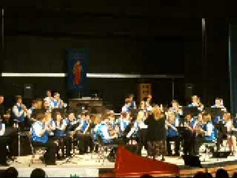 Writhlington School Senior Band - Just a Closer Walk With Thee
