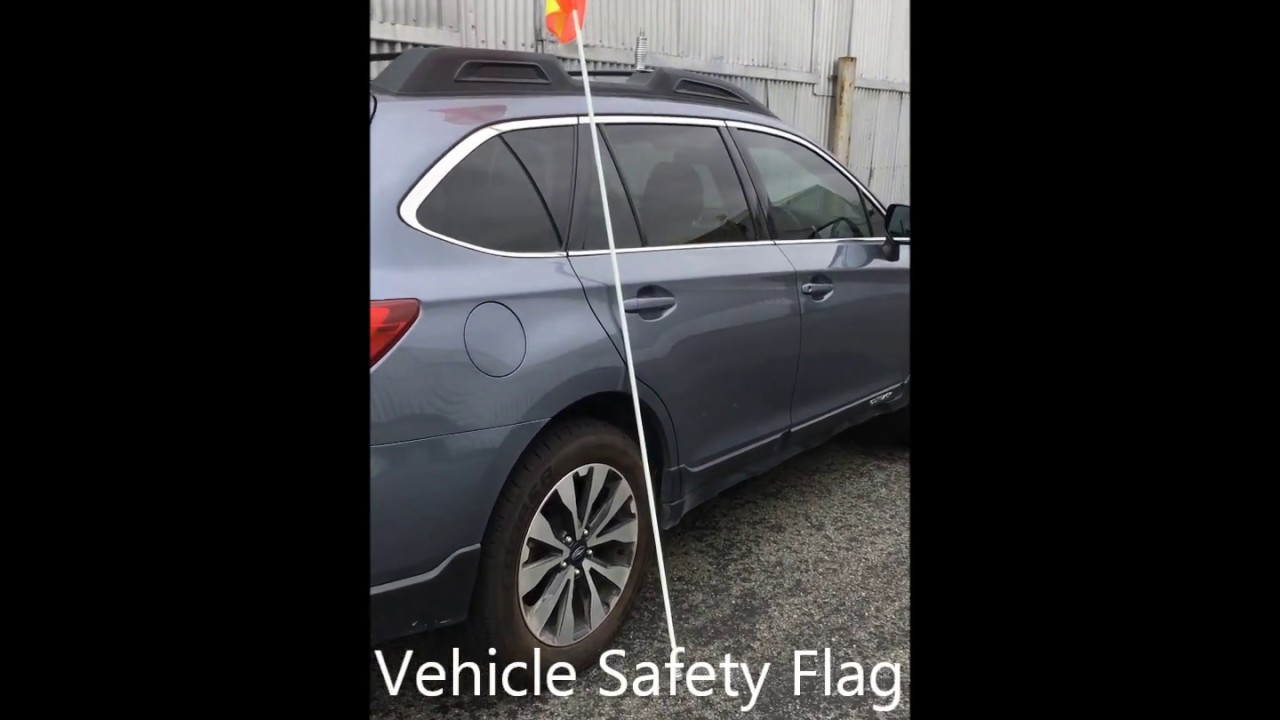 Quick Release Vehicle Safety Flag