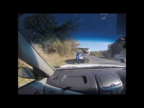 South African Cop VS SUP