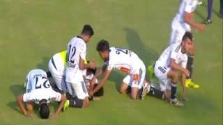 دوري الدرجة التانية   محمد رجب يحرز هدف التقدم لتليفونات بني سويف