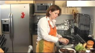 Hamburguesas de hongos portobello - Portobello Mushroom Hamburgers