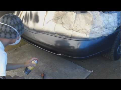 paint your car at home how to repair and paint a plas. Black Bedroom Furniture Sets. Home Design Ideas