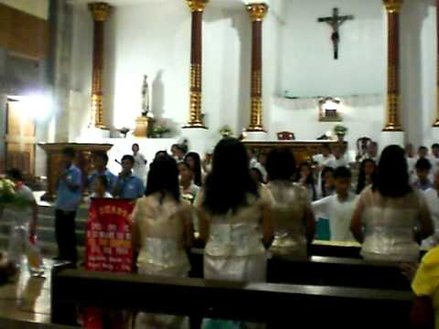 8th Anniversary of EL SHADDAI in STA KRUS Parish Church Vedio3