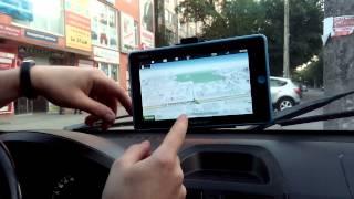 видео Автомобильный навигатор Пионер РА 780 с экраном 7 дюймов.