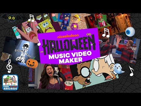 Halloween Music Video Maker - Scream, Shout and Make Your Own Spooky Video (Nickelodeon Games)
