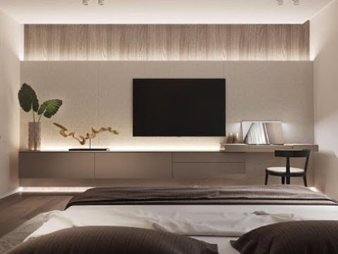 Modern Contemporary Tv Unit Designs For Living Drawing Room Bedrooms Part 2 Youtube
