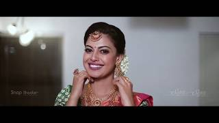 wedding make over @ actress ANUSREE