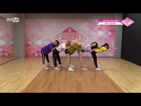 Rumor Produce 48 Dance Mirror Team Go Yujin