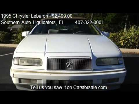 1995 Chrysler Lebaron Convertible For In Longwood Fl