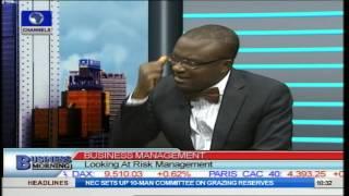 Risk Management Expert Gives ABC Of Managing Business Risks Pt.1