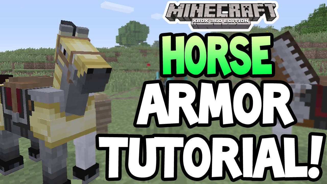 Details on how to make horse armor in the Maincrafter