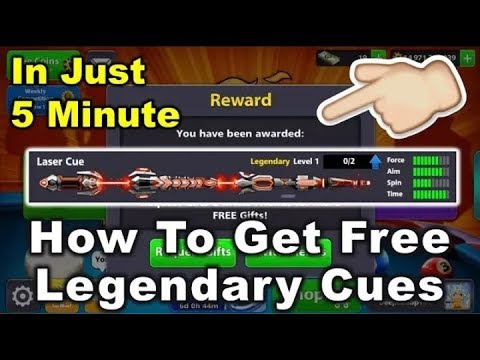 How To Get Free Legendary Cue In 5 Minutes |Technical Mehar |