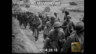 NORMANDY, THE AIRBORNE INVASION OF FORTRESS EUROPE, 5: 1) LS, MS & CUS OF BARRAGE LAID - LMWWIIHD360
