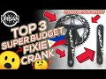 TOP 3 SUPER BUDGET FIXIE CRANKSET UNDER P3000 | Manila Urban Fixed - Usapang Fixed Gear