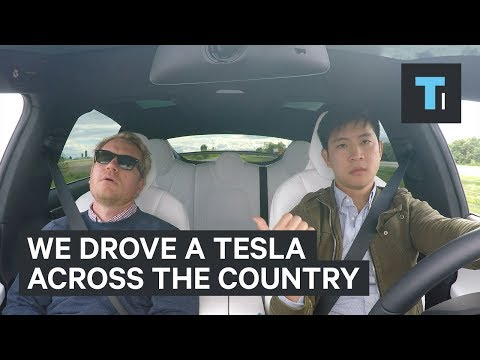Thumbnail: We drove the electric Tesla Model X across America
